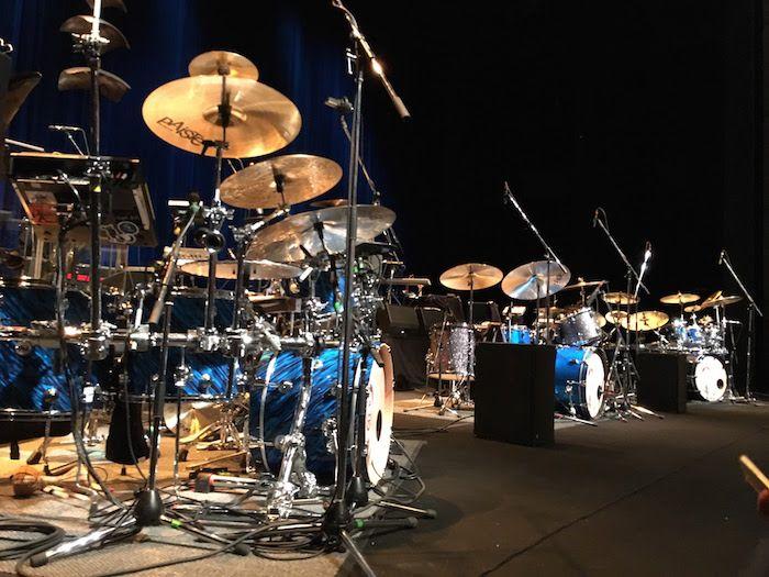 King Crimson 2015 トリプルドラム
