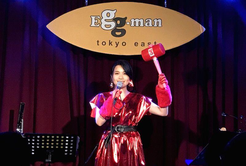 町あかりワンマンライブ、Eggman tokyo east。ピコピコハンマー
