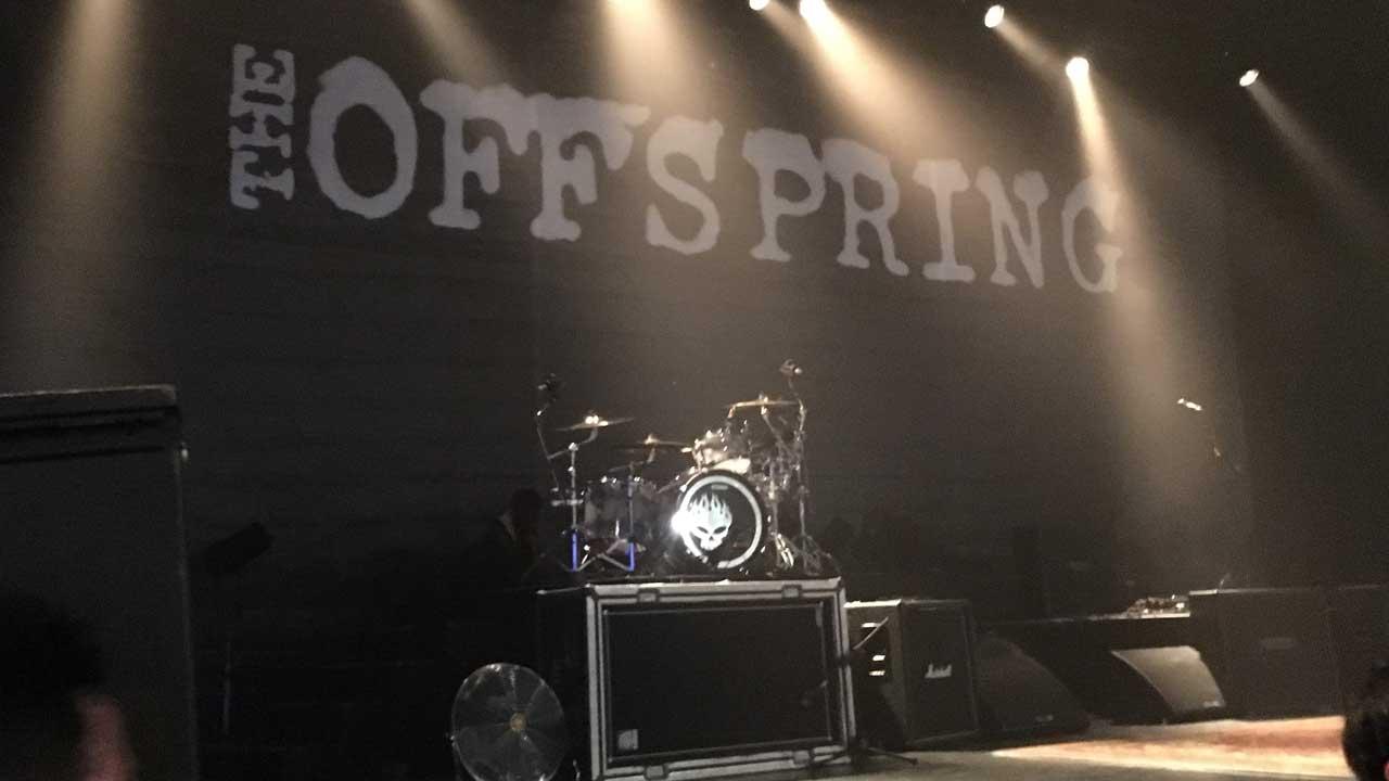 The Offspringの豊洲PIT公演に行ってきた