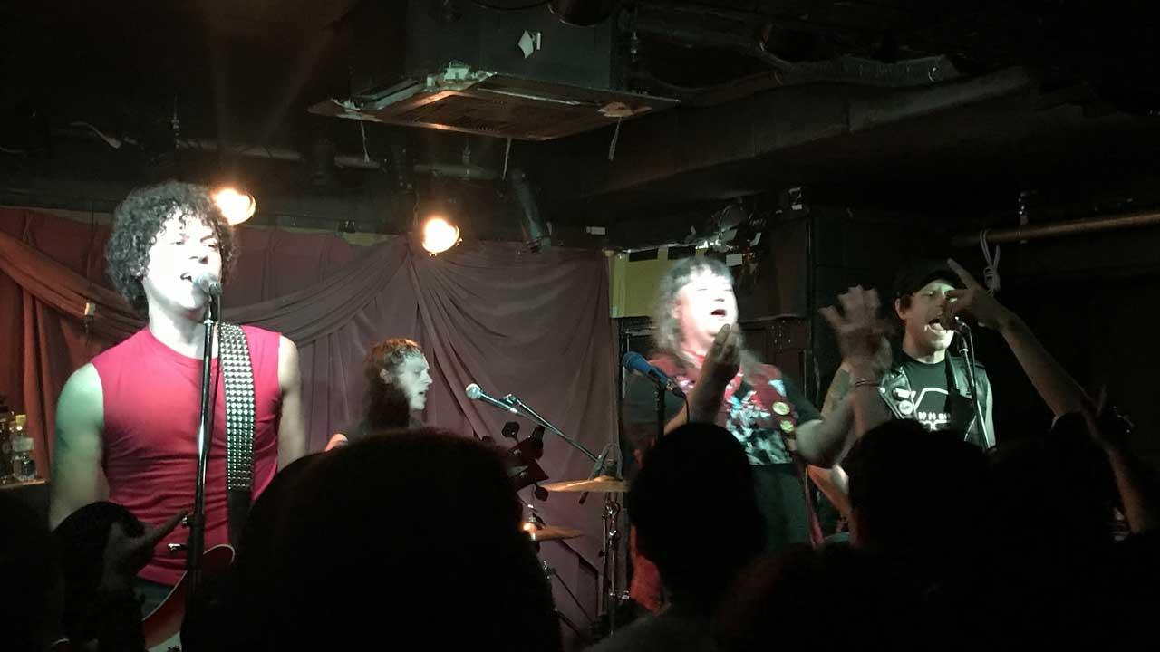terry and louieの来日ツアー、幡ヶ谷Club Heavy Sick公演