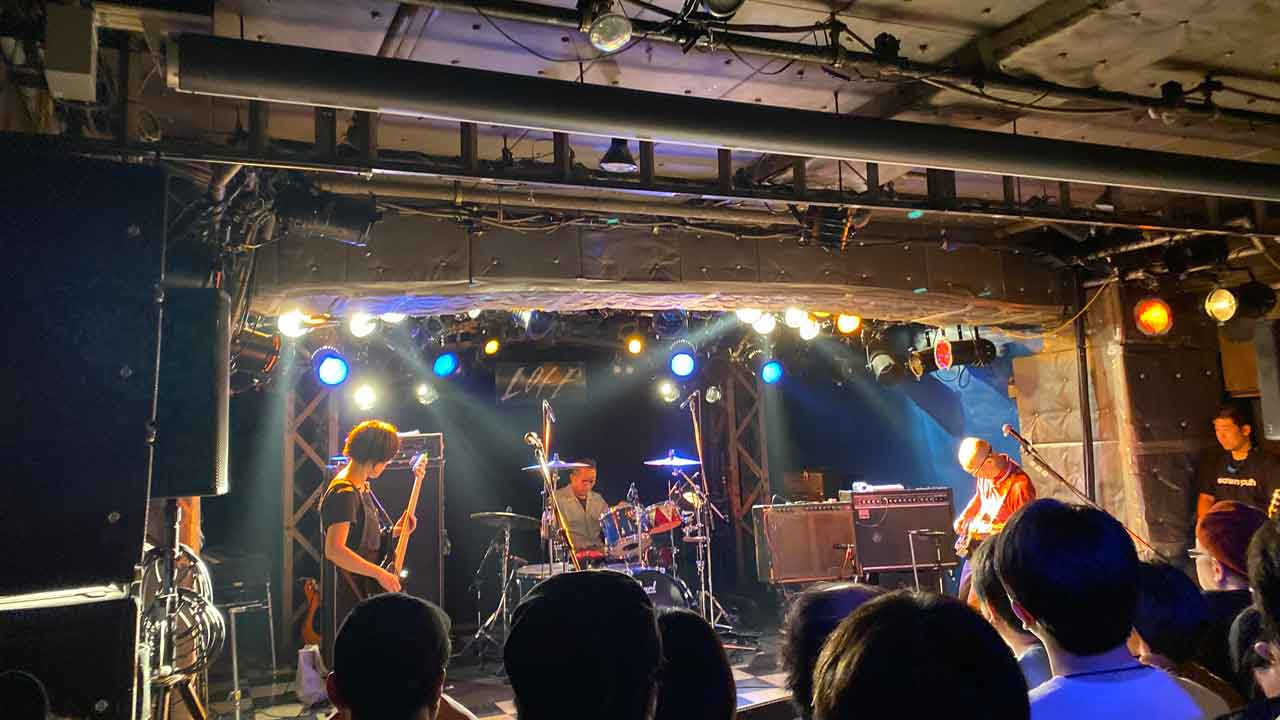 radioDTM 500th & 10years Anniversary 新宿LOFTの夜の部、eastern youth