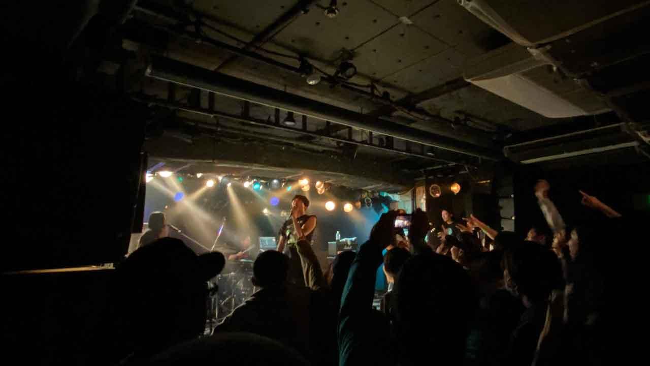 radioDTM 500th & 10years Anniversary 新宿LOFTの夜の部、Have a Nice Day!