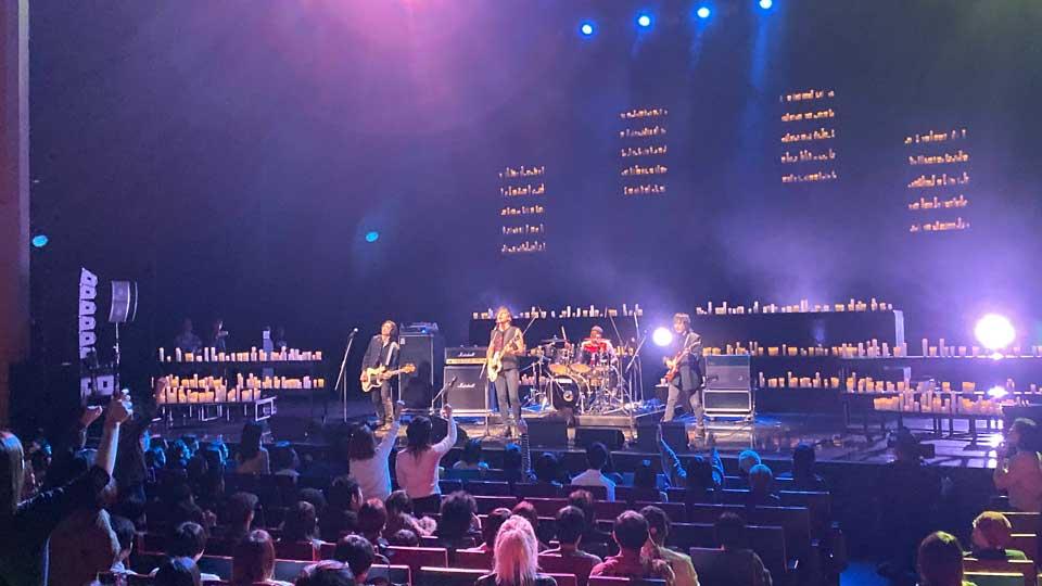 東京建物 Brillia HALLで観たSomewhere, 1001 candlesというイベントで観たThe Libertinesのカール・バラーとゲイリー・パウエル