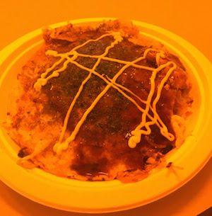 フジロック2017、Orange Cafeの広島お好み焼き肉玉そば2