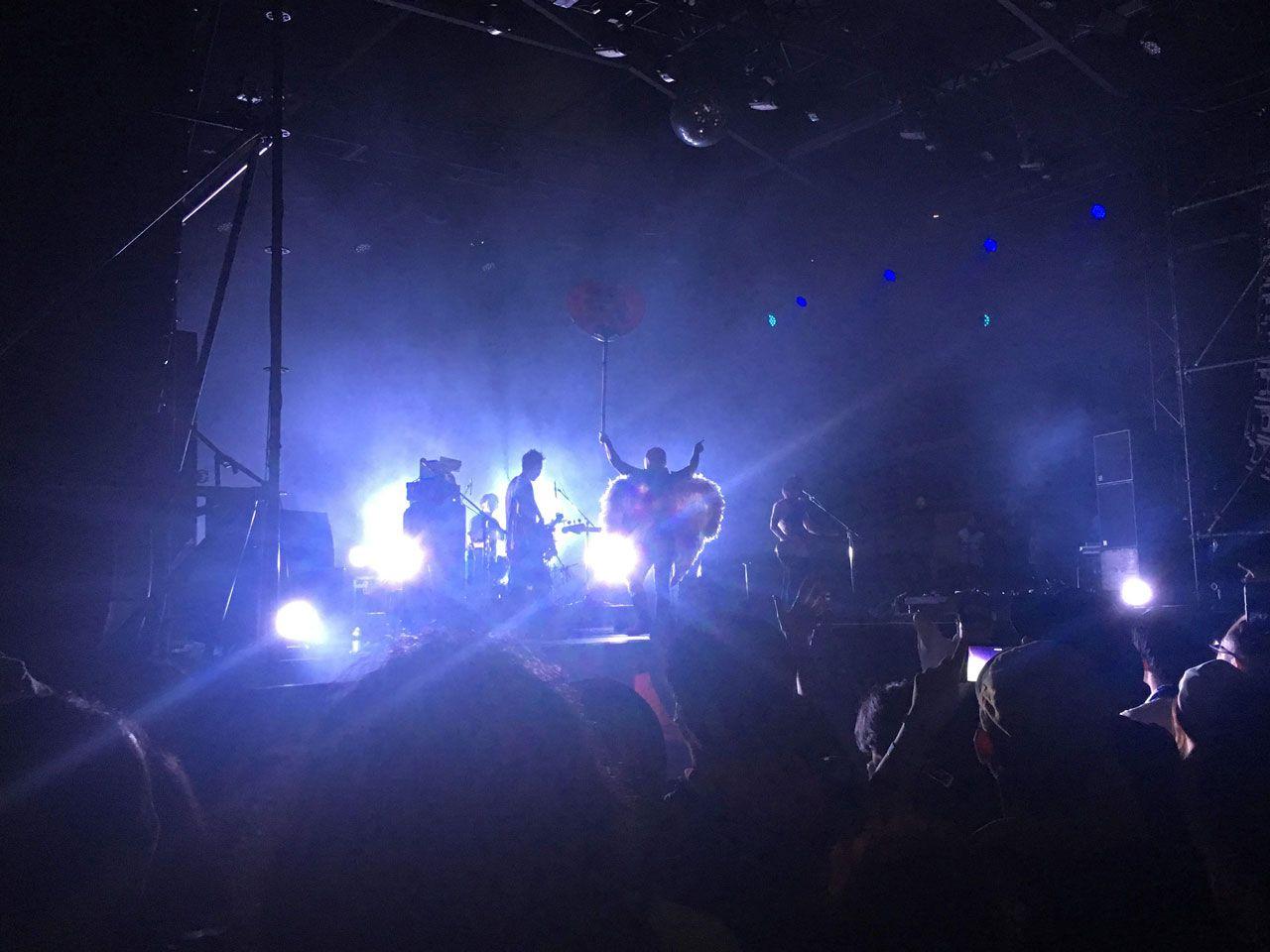 フジロック2018、前夜祭ライブ。Mo'some Tonebender