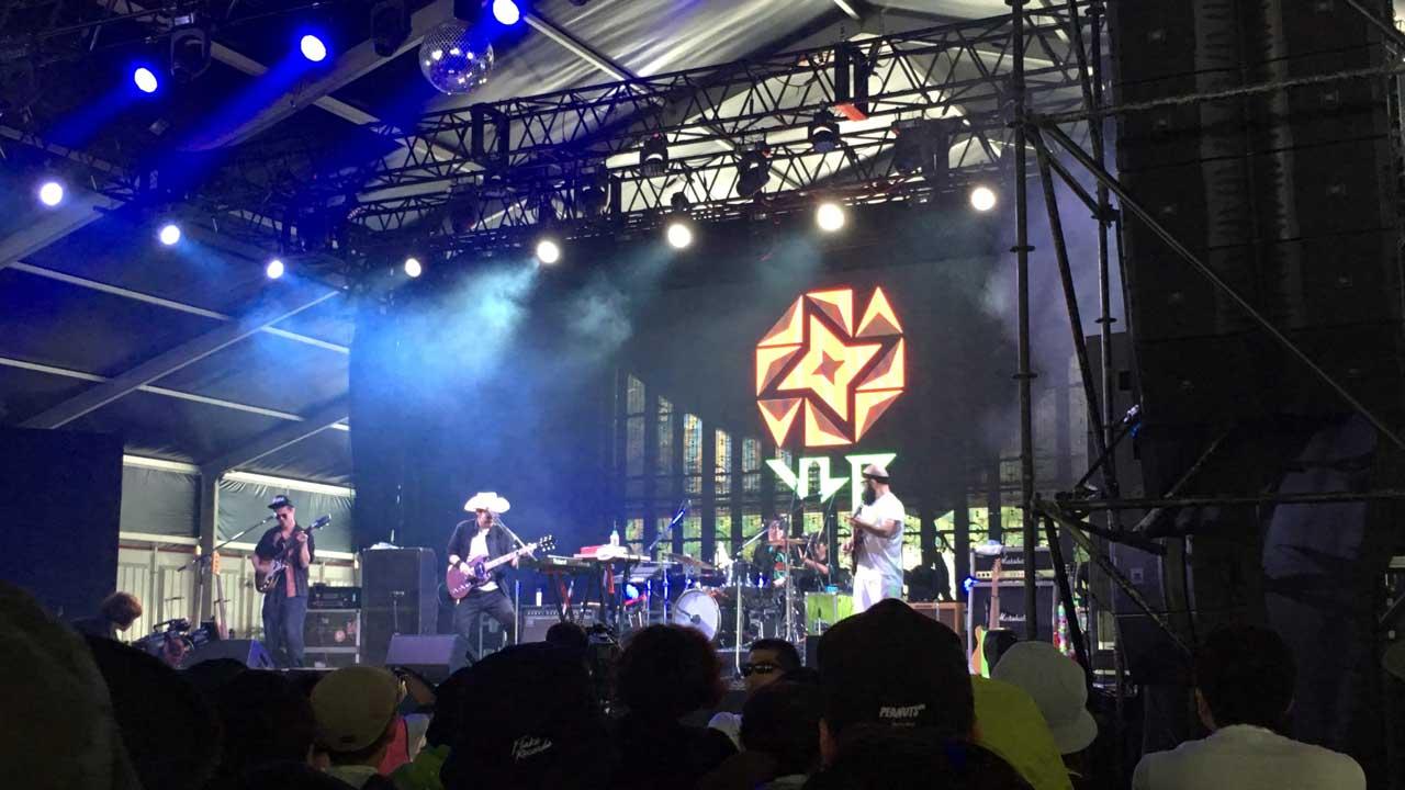 フジロック2018・3日目。LEO今井バンド