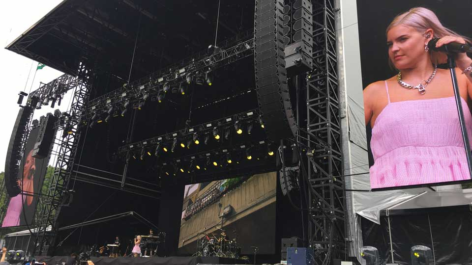 フジロック2019・初日、Green Stageでアン・マリーを見た