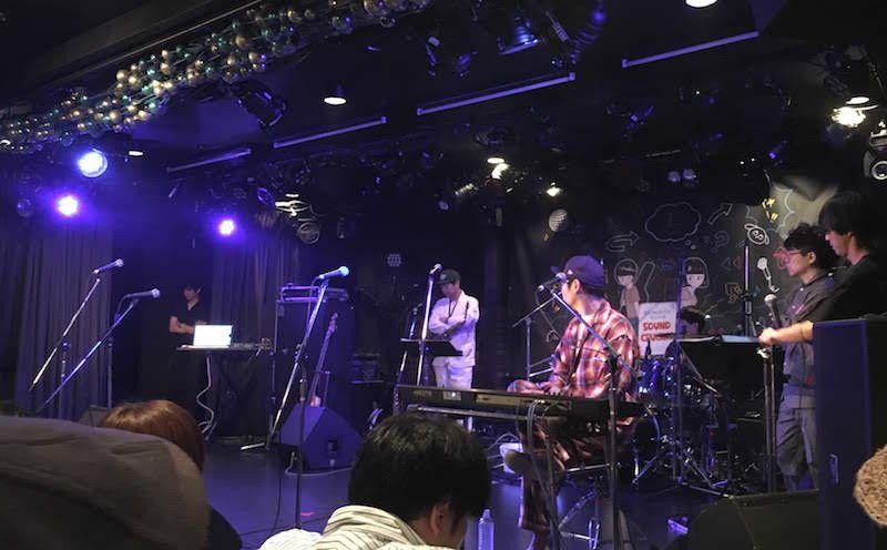 Shimokitazawa SOUND CRUISING 2018、下北沢Gardenで□□□(クチロロ)を見る