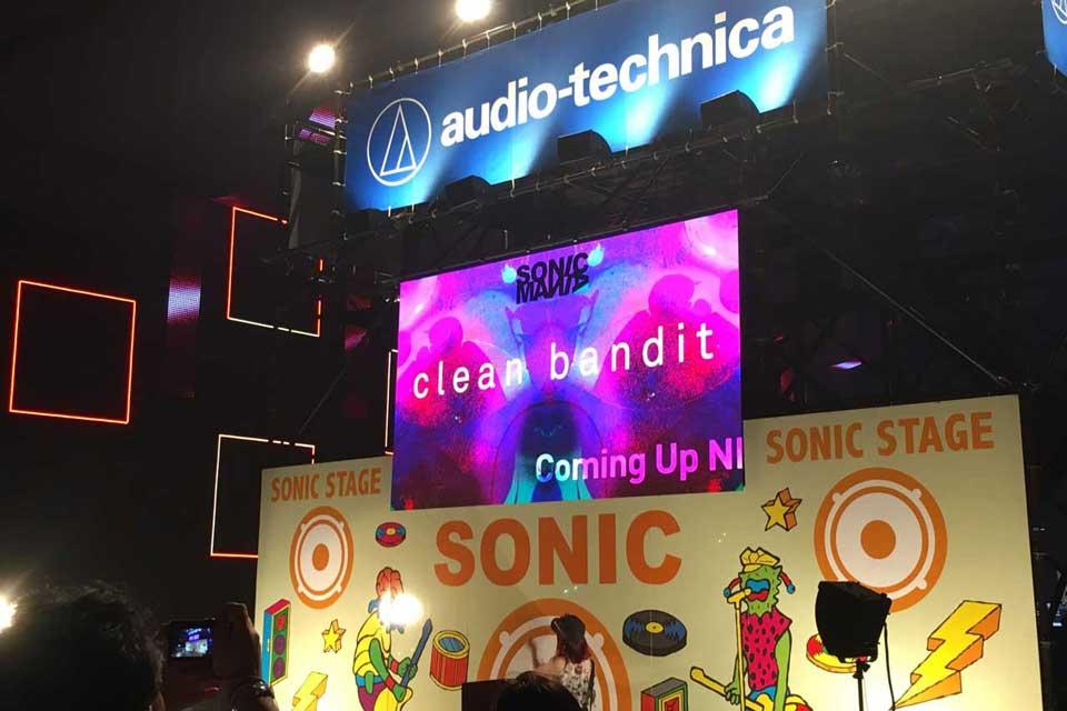 ソニマニ2018 SONICMANIA 2018、Clean Bandit