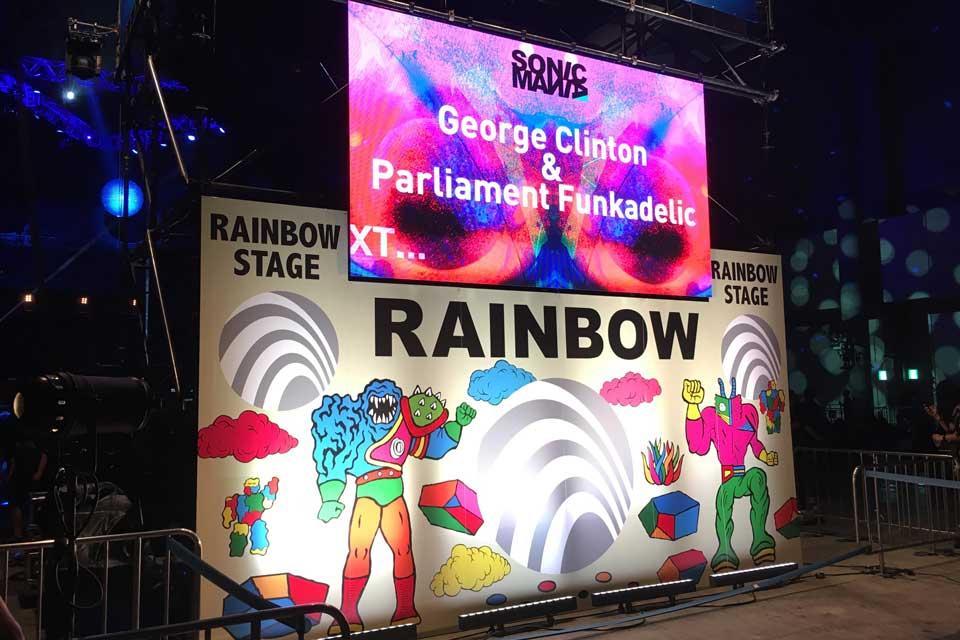 ソニマニ2018 SONICMANIA 2018、George Clinton & Parlament / Funkadelic