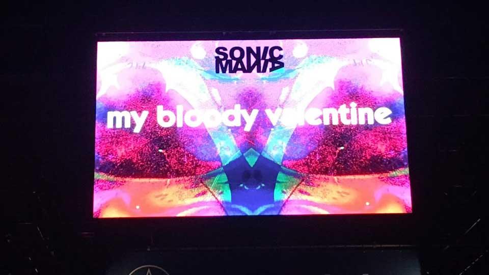 ソニマニ2018 SONICMANIA 2018、My Bloody Valentine