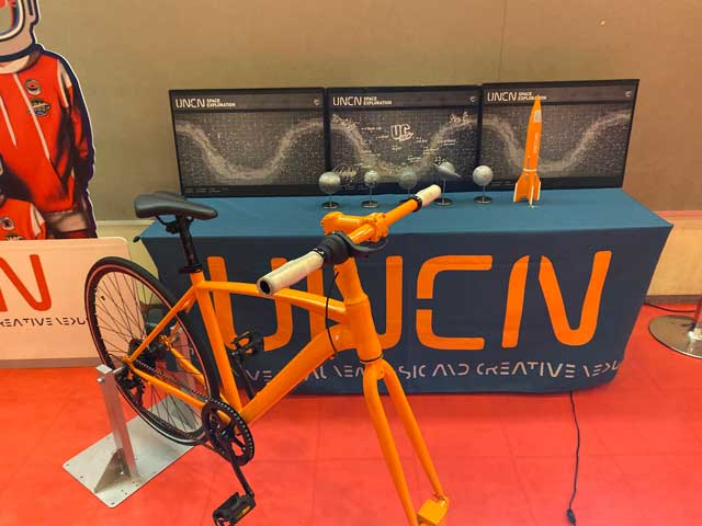 ユニコーン100周年ツアー「百が如く」中野サンプラザに展示されてた自転車